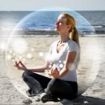 Kvinde i boble